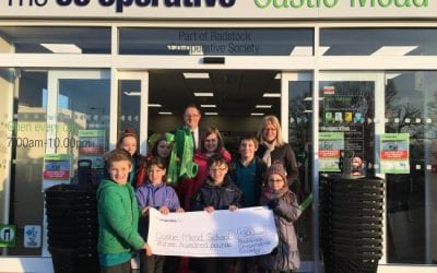 Castle Mead pupils open new Co-operative store