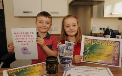 Castle Mead siblings help the homeless by turning home into pop-up café