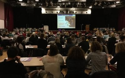 170 delegates join Pie Corbett for a day of Talk For Writing